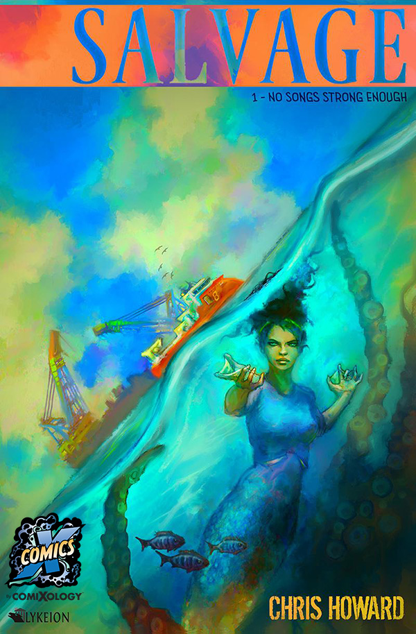 Salvage Volume 1 Comic at Comixology by Chris Howard