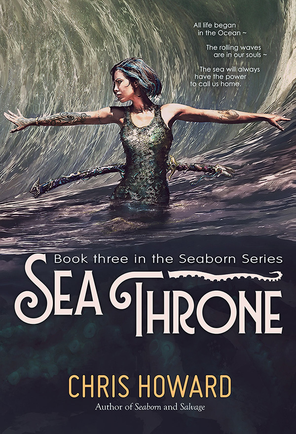 Sea Throne by Chris Howard